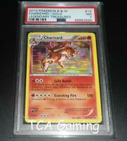 PSA 7 NEAR MINT Charizard 19/113 BW Legendary Treasures HOLO RARE Pokemon Card