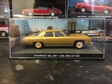 James Bond Auto Collection No124 CHEVROLET BEL AIR 1/43 Nuovo di zecca
