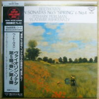 PERLMAN ASHKENAZY BEETHOVEN VIOLIN SONATAS JAPAN KING KIJC 9191 SUPER ANALOGUE
