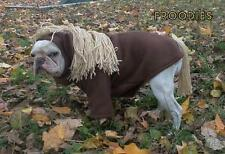 French Bulldog Boston Terrier Pug Dog Froodies Hoodies Coat Costume Pony Horse