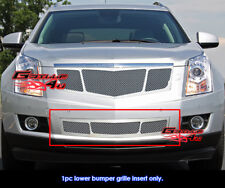 Fits Cadillac SRX Stainless Steel Mesh Bumper Grille Inserts 2010-2012