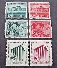 Germany Stamps Lot:  B121 & 122; B132 & 133; B138 & 139.  See Details & Pictures