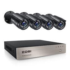 Zosi 8ch 720p AHD DVR 1500tvl Caméra 24 IR LEDs Ir-cut Vidéosurveillance Système