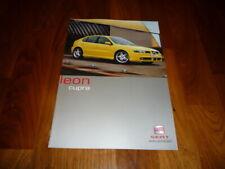 Seat Leon CUPRA Prospekt 03/2001