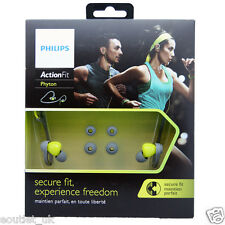 Philips SHQ4300LF ActionFit Sports Moisture Proof In-Ear Headphones RRP £30 NEW