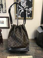 Louis Vuitton NOE GM Black W Monogram GORGEOUS! 😍