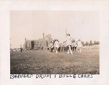 1945 Barnard  NY Drum & Bugle Corp marching 4x5  Photo
