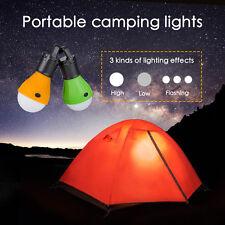 Hanging 3 LED Camping Tent Light Bulb Fishing Lantern Lamp Outdoor HOT SALE