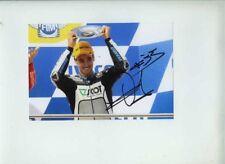 Raffaele DE ROSA HONDA MOTO 250cc Australia MOTO GP 2009 firmato fotografia 2