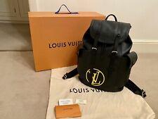 ORIGINALE Louis Vuitton Christopher PM Zaino M55138 nera in pelle EPI