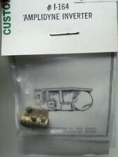 "Custom Finishing HO Amplidyne electromechanical Inverter AC-DC ""BRASS"" 164"