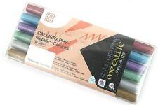 Zig (Kuretake) Calligraphy Metallic-Colour Dual Tip Markers