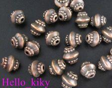 100 pcs Antiqued copper plt lantern spacer beads A167