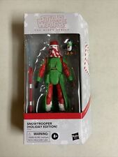 Star Wars Black Series Holiday Snow Trooper