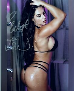 KAITLYN FORMER WWE DIVA AUTOGRAPH SIGNED 8X10 PHOTO #33 DIVAS CHAMPION