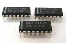 74HCT138E: 3-TO-8 DECODER/DEMULTIPLEXER: 16-Pin DIP: 3/Lot: Popular with Arduino