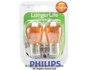 NEW Philips BC9742 LongerLife 1156NA Auto 2-Pack 1156NALLB2 12V Bulb