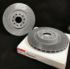 GENUINE HONDA CIVIC TYPE R FK2 FRONT BRAKE DISCS (PAIR) 2015 - 2016