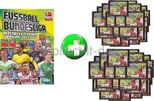 Topps Bundesliga 15/16 2015 2016 Sammelsticker - Album + 2 Displays (100 Tüten)