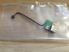 HP DV9000 DV9500 DV9700 SERIES GENUINE USB PORT BOARD & CABLE DD0AT9THC00