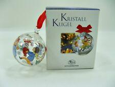 Hutschenreuther - Weihnachtskugel klein - Kristall - Winterspiele- Ø 4,2 cm (58)