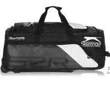 Cricket kit bagSlazengerv60 Wheelie Bag Black/White - used twice.