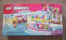 LEGO Juniors 10747 Andrea & Stephanie's Beach Holiday 143 pc.Boat, Dolphin NEW!