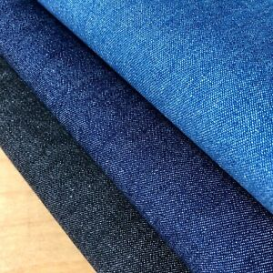 7.5oz Denim Fabric Enzyme Washed Jeans Cotton Material - 145cm wide