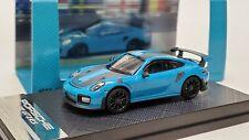 1:64 Porsche 911 GT2 RS Dealer Version Blue Diecast