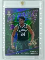 2019-20 Panini Optic My House Purple Prizm Giannis Antetokounmpo #5