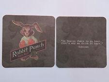Beer Coaster ~^~ BIG HORN Brewing (Ram) Rabbit Punch Irish Red Ale ~ Lakewood WA