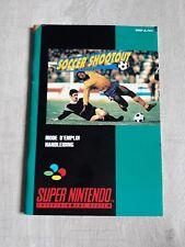 Notice de jeu Nintendo super Nes FR originale soccer shootout SNES Manuel