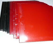 12x ITTF Approved Traning Table Tennis Rubber Sheets, Pips-in, USD