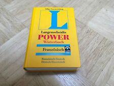 Langenscheidt Power Wörterbücher / Langenscheidt Power Wörterbuch Französisch Fr