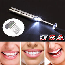 6Pcs Dental Tool Pick Scaler Mirror Set Stainless Steel Dentist Tools Teeth US