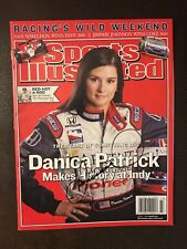 Danica Patrick Signed Sports Illustrated Autographed Indy 500 2005 Indianapolis