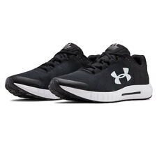 Under Armour Mens Micro G Pursuit BP Running Shoes Trainers Sneakers - Black