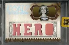 NATALIE WOOD HOLLYWOOD ICONS CELEBRITY CUTS QUAD HERO SWATCH SP # 25/25 SEALED