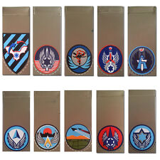 Israeli AIR FORCE Army military 10 IAF Bases Shoulder tags