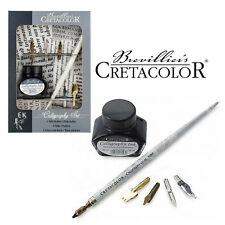 Handlettering Kalligraphie Schreibfeder Set 7-Teilig Cretacolor Brevellier