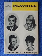 There's A Girl In My Soup - Music Box Theatre Playbill w/Ticket - November 1967