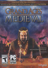 GRAND AGES MEDIEVAL Limited Special Edition FREE BONUS - PC Game Windows 7,8,10
