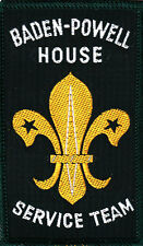 Boy Scout Badge 1960`s BADEN-POWELL HOUSE Service Team