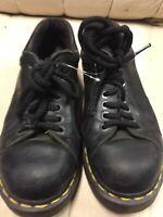 Dr. Doc Marten's Shoe oxford 8312 air cushion sole Black leather U.S Men's 6