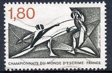 STAMP / TIMBRE FRANCE OBLITERE N° 2147  SPORT ESCRIME