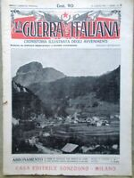 La Guerra Italiana 25 Luglio 1915 WW1 Guerra nel Trentino Duino Garibaldi Carso
