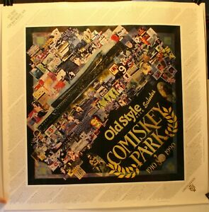 "1990 Chicago White Sox All Time Roster 27 1/2 x 27 1/2"" Poster Memorabilia"