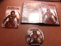 Sony PlayStation 2 PS2 CIB Complete Tested Prince of Persia Warrior Within Ships