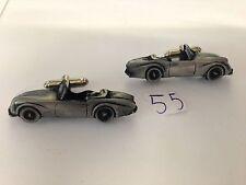 Daimler Dart SP250 3D Cufflinks Gemelos De Efecto Peltre coche clásico ref55