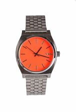 Nixon Women's Orange Minimal 15J 110 mm Time Teller 3533 Analog Display Watch